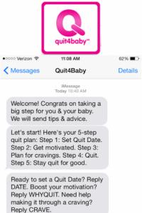Quit4Baby quote